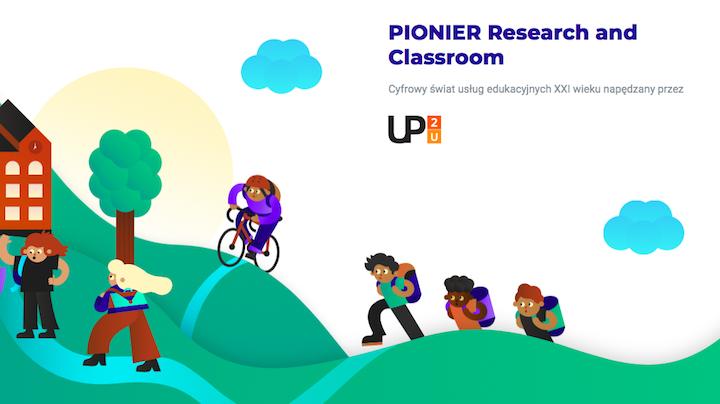ilustracja strony projektu Pionier Research & Classroom