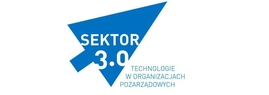 ilustracja promująca Festiwal Sektor 3.0 Technologie w organizacjach pozarządowych