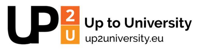 logotyp projektu Up2University